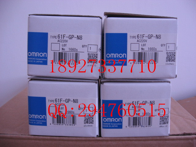 [ZOB] Supply of new original omron Omron level switch 61F-GP-N8 AC220V 8 feet [zob] supply of new original omron omron level switch cover ps 3s 5pcs lot