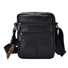 Men's Shoulder Bag Business Men's Genuine Leather B