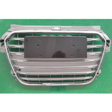 A1 S1 Style Gray Chrome Frame Front Bumper Middle Grill Grille For Audi A1 S1 RS1 S Line 2010-2015(China)