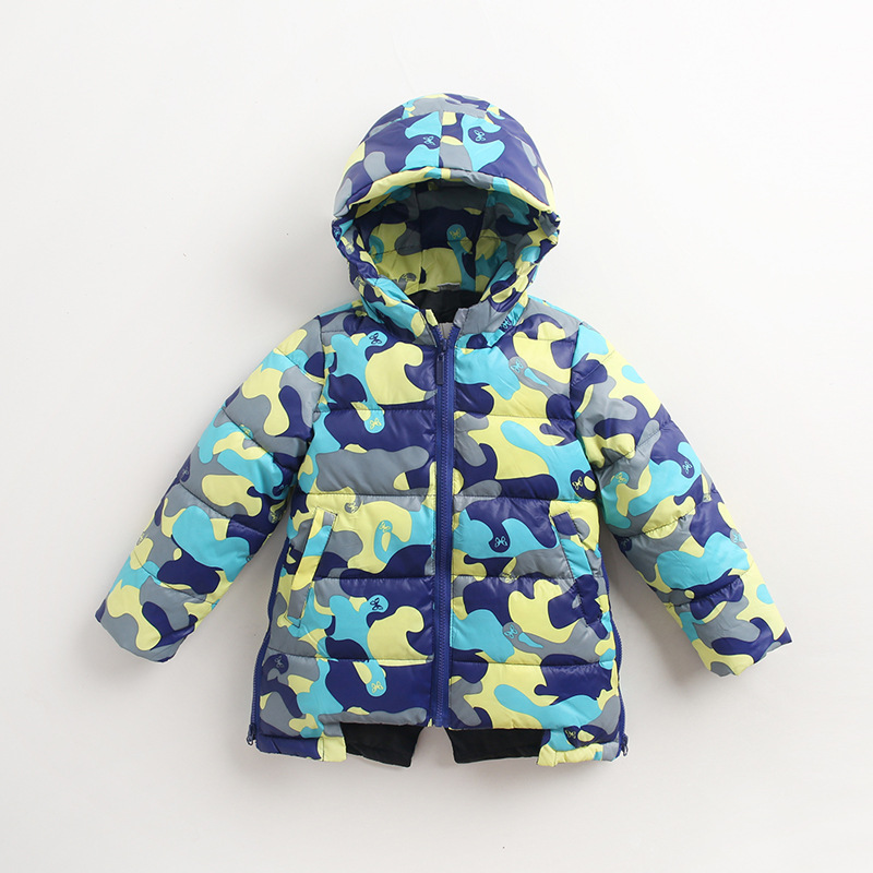 2017 Children Jackets Winter Boys Coats Camouflage Down Jackets for Kids Girls High Quality Casual Jacket Coat Short Paragraph high quality children down coats 2017