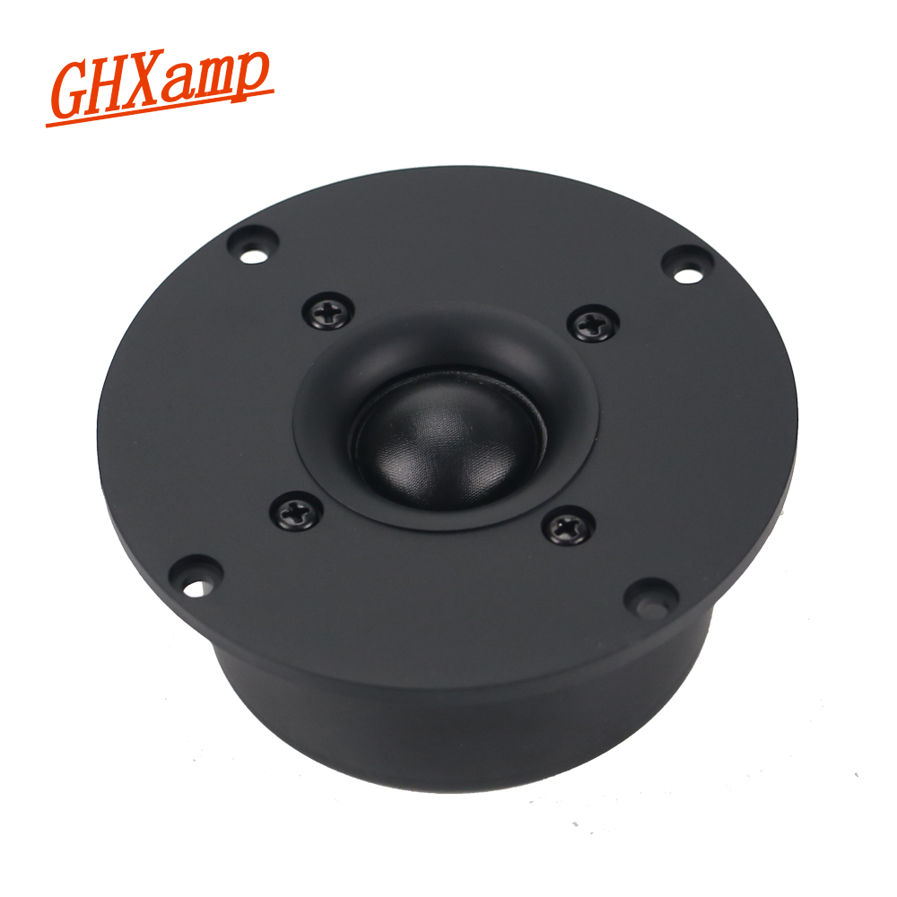 GHXAMP 4 INCH 8OHM 60W Tweeter Speaker Unit Silk Membrane Soft Ball Stereo HOME Speaker HIFI Treble Loudspeaker DIY 89DB 1PC