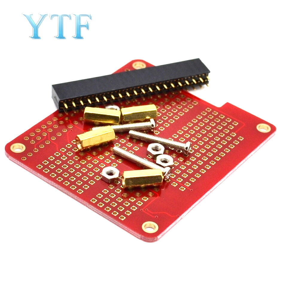 Raspberry Pi 2  Exclusive HAT Hole Board DIY Welding Kit Compatible With B+/A+ Pi