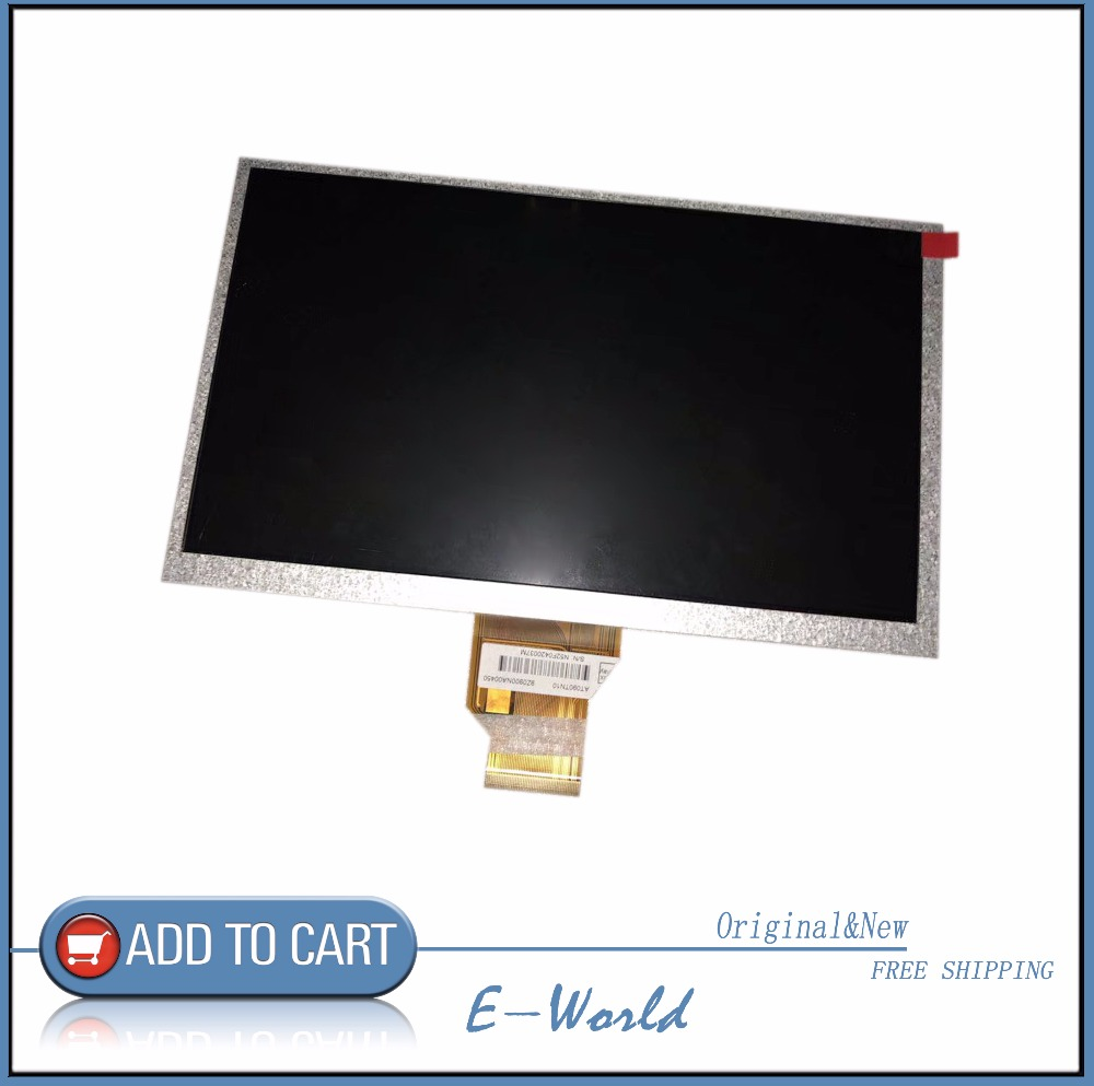 Original LCD screen AT090TN10 for tablet pc free shipping original 7 inch 163 97mm hd 1024 600 lcd for cube u25gt tablet pc lcd screen display panel glass free shipping