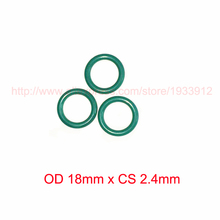 OD 18mm x CS 2.4mm viton fkm rubber o-ring o rings oring sealing