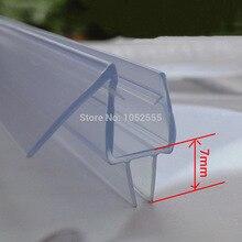 10 шт Me-310 Ванна Душ экран резиновые большие уплотнения водонепроницаемые ленты стеклянная дверная изоляция Длина: 700 мм