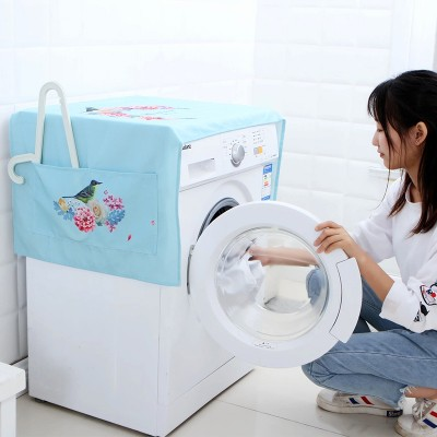 Multi - cover towels printed cotton washing machine cover cloth cover 127*54cm