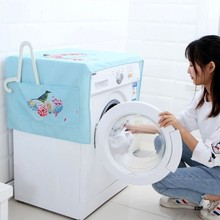 Multi - cover towels printed cotton washing machine cover cloth cover  127*54cm все цены