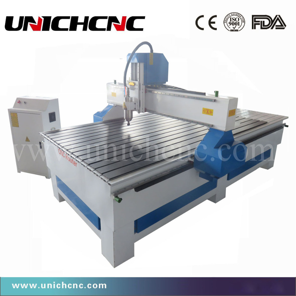Machine de sculpture sur bois de routeur de CNC stable élevé