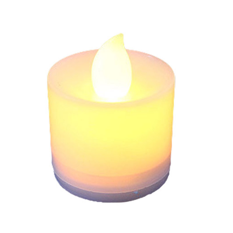 New Flameless LED Tea Light Candles Candle Lamp Tealight For Garden Decoration Festival Celebration Wedding Gift TB Sale
