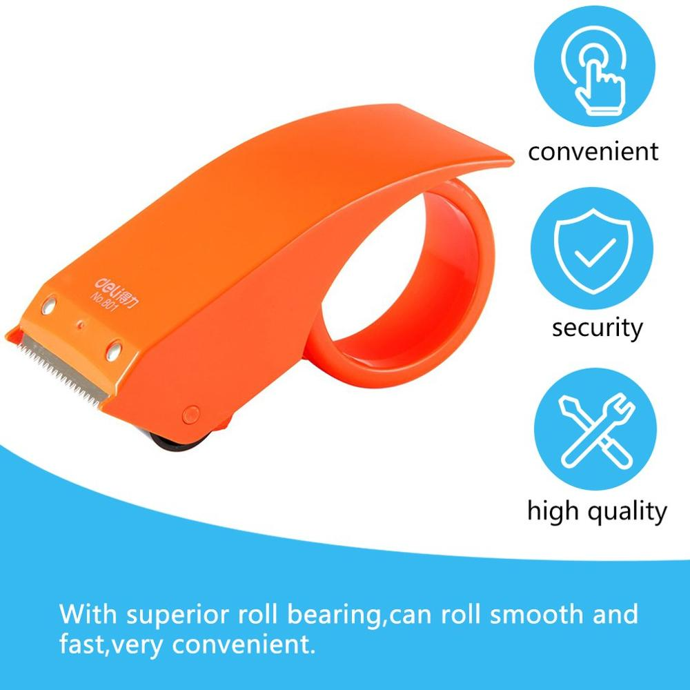 Deli Scotch Tape Dispenser Packing Tape Dispensers Sealing Machine Dispensing Device Tape Holder Cartoon Packing Machine