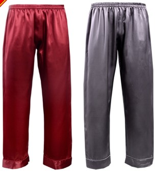 30 M Heavy Silk Pajamas 100% Mulberry Silk Household Pants, Casual Pants, Silk Pajamas And Long Pajamas