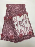 Wine Red Black Wholesale Cheap 3D Flowers Mesh Embroidered Wedding Stone Bead Evening Show Dress Tulle