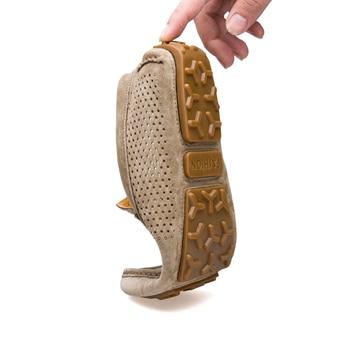 UNN/брендовые модные летние стильные Мягкие Мокасины; мужские лоферы; Высококачественная обувь из натуральной кожи; мужская обувь на плоской...