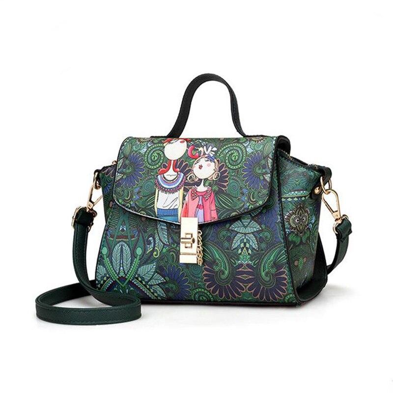 6d53b8cfcc5c ... плечо Сумки из модного кожзаменителя лес печатных Для женщин сумка  Ретро Crossbody Сумка Женский Майкл. 4.70 out of 5. US $20.28SaveEnlarge.