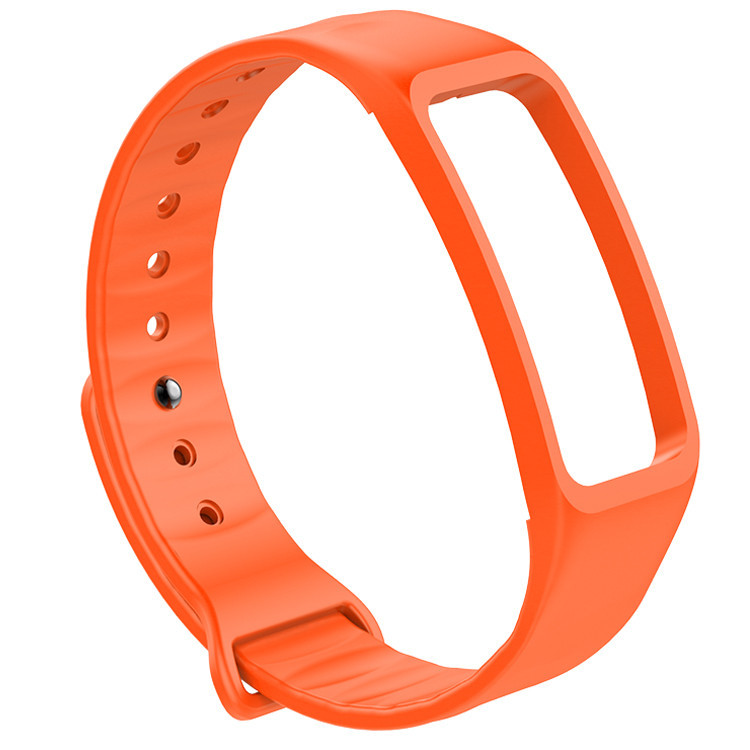 6 colors Double color pulseira miband 2 strap replacement High Quality Elastic Material Silicone Straps 8per R20005 180519 yx