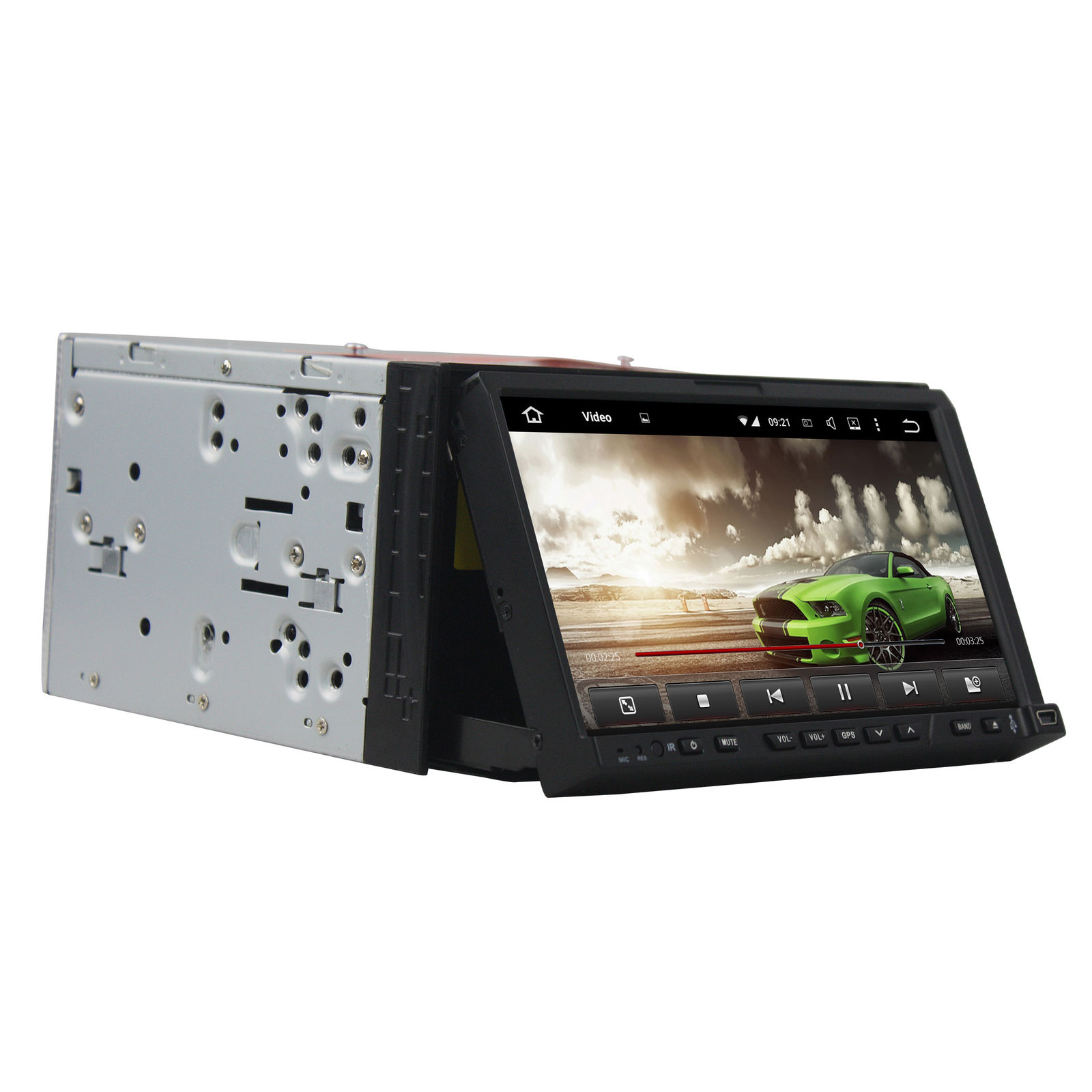 2 din android car dvd gps navigation 3g wifi bluetooth tv aux usb touch screen auto radio stereo. Black Bedroom Furniture Sets. Home Design Ideas