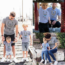 Family Matching Baby Kids Boys Mens Womens Couple T-Shirt Family Match Shirts Tee Top Clothes