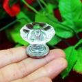 20 pcs cristal flor de acrílico jóias maçanetas puxa gaveta puxadores de móveis de decoração de