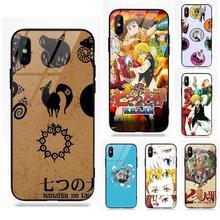 99ac84f60b67cb Diwqxr Nanatsu No Taizai For Apple iPhone X XS Max XR 5S SE 6 6S 7 8 Plus