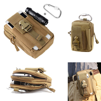 6 Colors Tactical EDC Utility Gadget Waist Bag Cell Phone Waist Bag Pack Military Molle Pouch