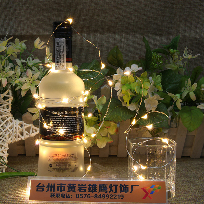 2018 Stickers Hotel Interior Decoration Outdoor Water Proof 100led Lantern 10 Meter Led Battery Box Copper Wire Lamp String