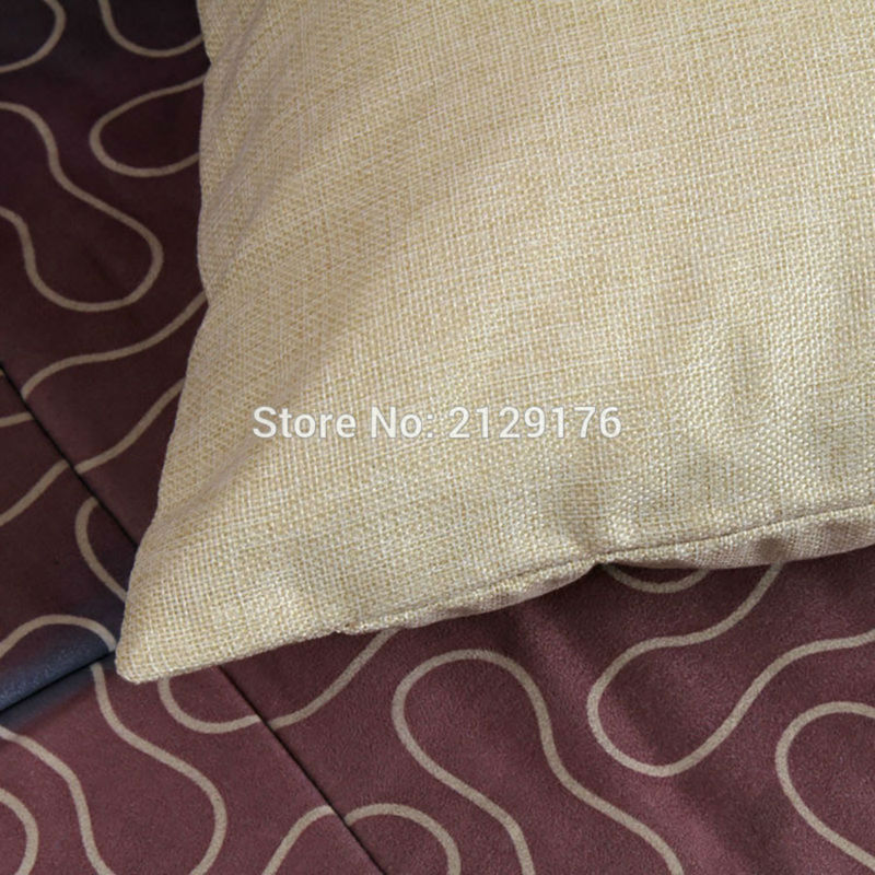 Geometric patterns Cushion Cover Cotton Linen Home Decorative Pillow - Home Textile - Photo 5