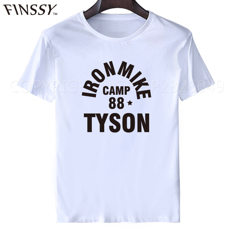 Iron Mike Camp 88 Tyson t shirt men 2017 tops tees O-Neck Fashion t shirts XXXL