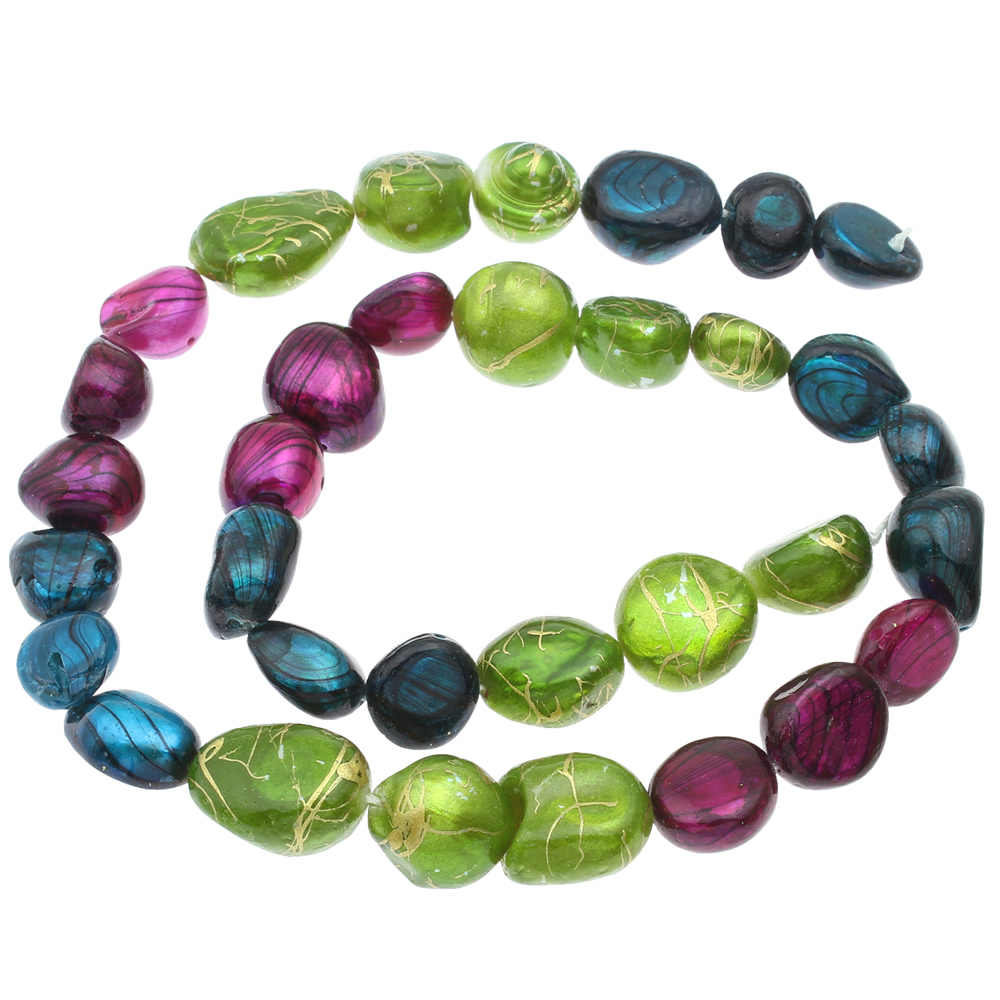 Wholesale 10-11 MM Natural Stone Oval shape cab cabochon charms stone Beads for jewelry making DIY Freshwater Pearl Beads