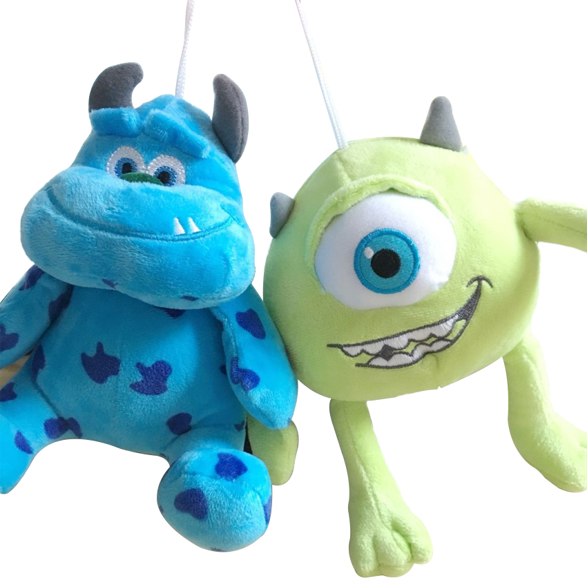 1pc 7.8 Monsters Inc Monsters University Monster Mike Wazowski And James P. Sullivan plush toy for kids gift mike and psmith
