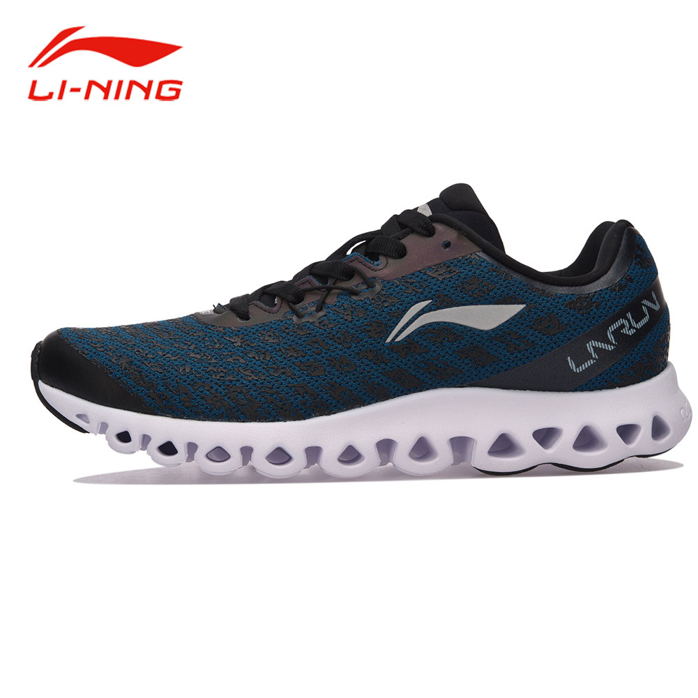 Li-Ning Men LN ARC Technology Cushioning Running Shoes Breathable Sneakers Anti-Skid LINING Autumn Light Sports Shoes ARHM051 original li ning men professional basketball shoes
