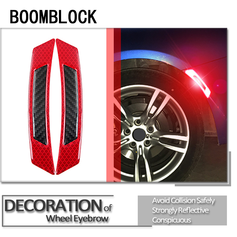 Car Styling 3D Stickers For <font><b>BMW</b></font> E46 E39 E60 E90 E36 F30 F10 X5 E53 E34 <font><b>E30</b></font> Mini Cooper S Lada Door Wheel <font><b>Eyebrow</b></font> Accessories image