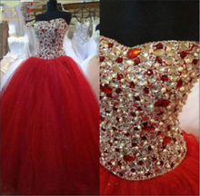Bealegantom New Swettheart Ball Gown Quinceanera Dresses 2019 Beaded Lace Up For 15 Years Vestidos De Anos QA1430