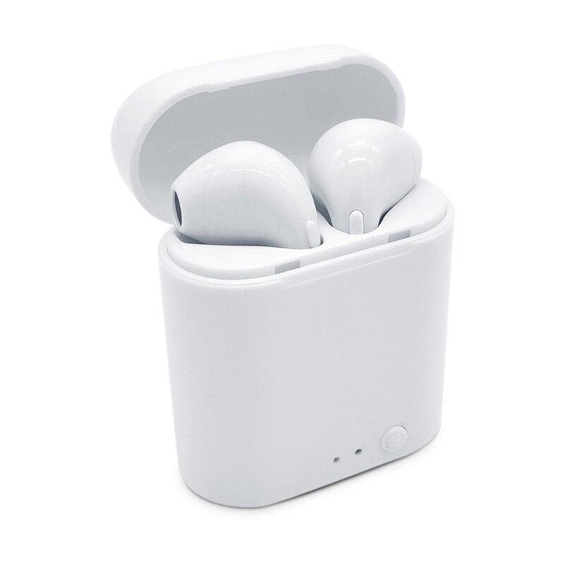 Wireless Bluetooth Kopfhörer Mini TWS I7S Mit Mikrofon Freisprecheinrichtung Air schoten Mit Ladegerät Box Für apple iPhone Samsung xiaomi