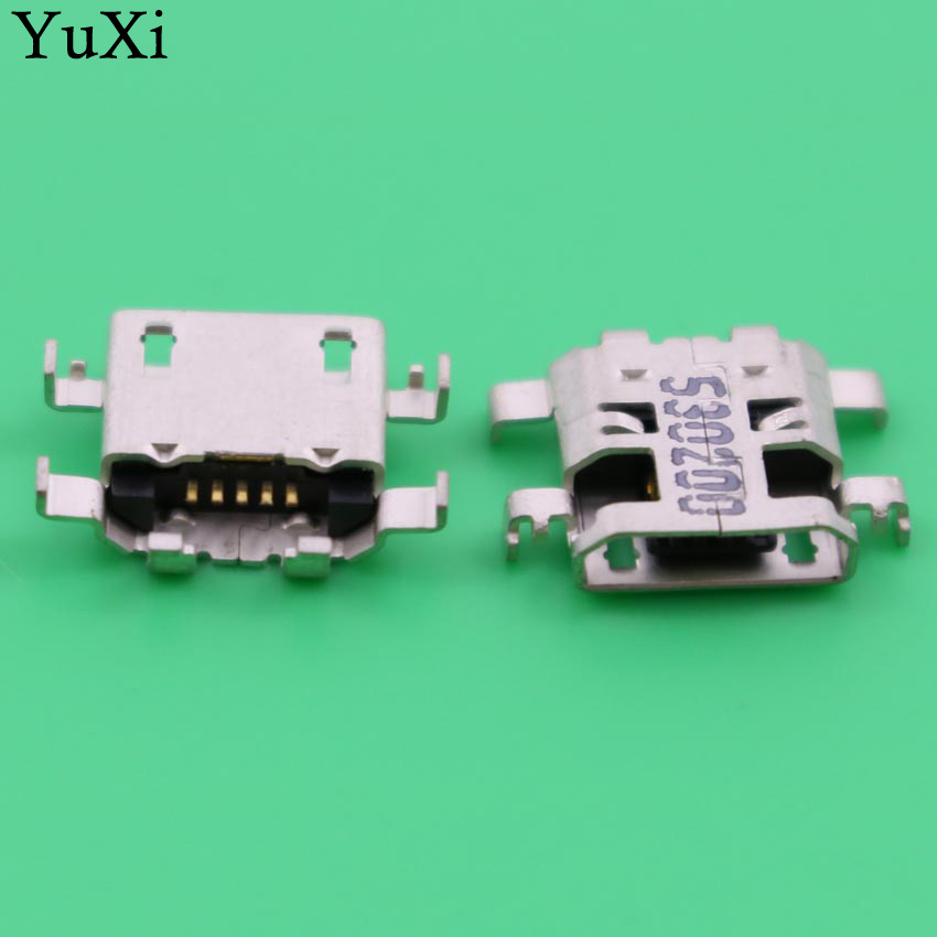 YuXi 10pcs/lot original new micro usb connector for LENOVO A5500 A5500H 8A526 A5500-F TABLET 10pcs lot opa227p opa227pa dip 8 100% new origina