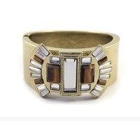 مصمم الأزياء والمجوهرات عالية الجودة الطبيعية النمر واضح حجر الكريستال سوار الإسورة هدية مجوهرات