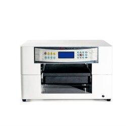 Sprzedaż bezpośrednia cyfrowy drukarka UV typu flatbed maszyna drukarska dla 3d obraz na szkle a3 drukarki kart