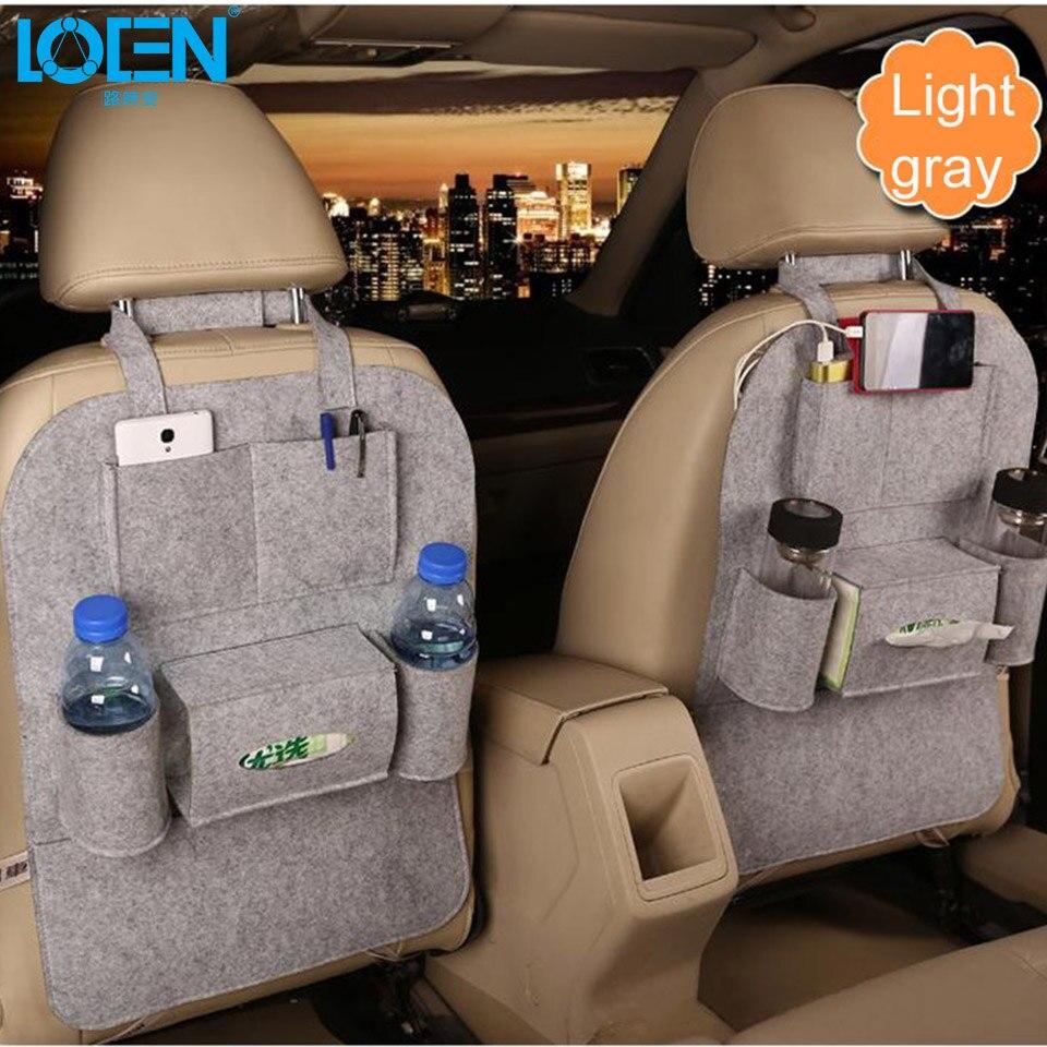 1 UNIDS Auto Asiento de Coche Organizador de Misceláneas Holder - Accesorios de interior de coche - foto 5