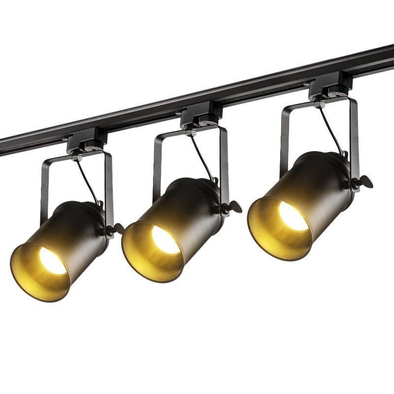 Современные Светодиодный Фонари Трек железнодорожных лампа Костюмы магазин Windows салонах выставка внимания домашнего освещения пятно свет... ...