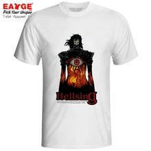 No Life King Alucard T-shirt Hellsing Dark Vampire Anime Style Rock Cool T Shirt Hip Hop Fashion Skate Women Men Top Tee hellsing alucard cosplay costume set vampire hunter