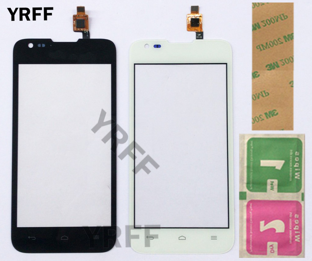 4.5'' Touch Screen For Huawei Ascend Y550 Y550-L01 Y550-L02 Y550-L03 Touch Screen Panel Sensor Digitizer Front Glass Touchscreen