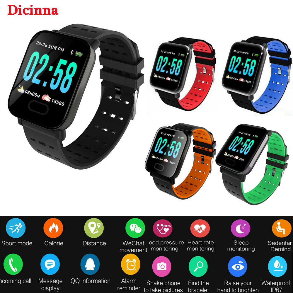 Popular Smart Watch for Men Women Wearable Devices Fitness Activity Tracker Unisex Kids for Fitbit for Android iOS Heart Rate