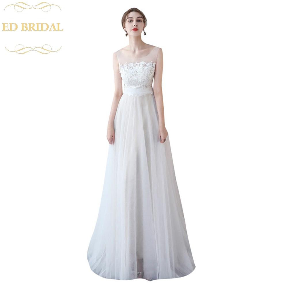 Simple Ed Lace Wedding Dress Weddings Dresses
