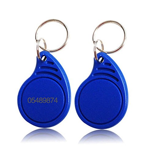 100pcs RFID Keychains Proximity ID card EM 4100/4102 chip blue 125KHz access Key Fob ada instruments ada extension 1000 для бензобура 100 см