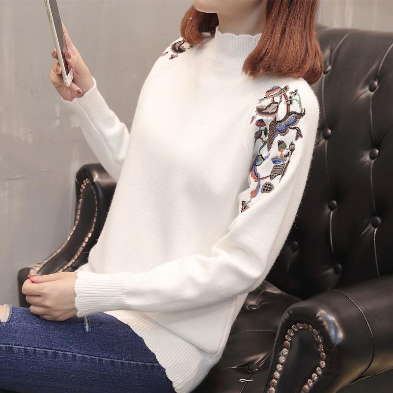9346 Tabellesiehe neue Siehe gestickte von Edition Tabelle Filmer Die 2018 Damen Pullover An Han Der Herbst QrWxeBdCo