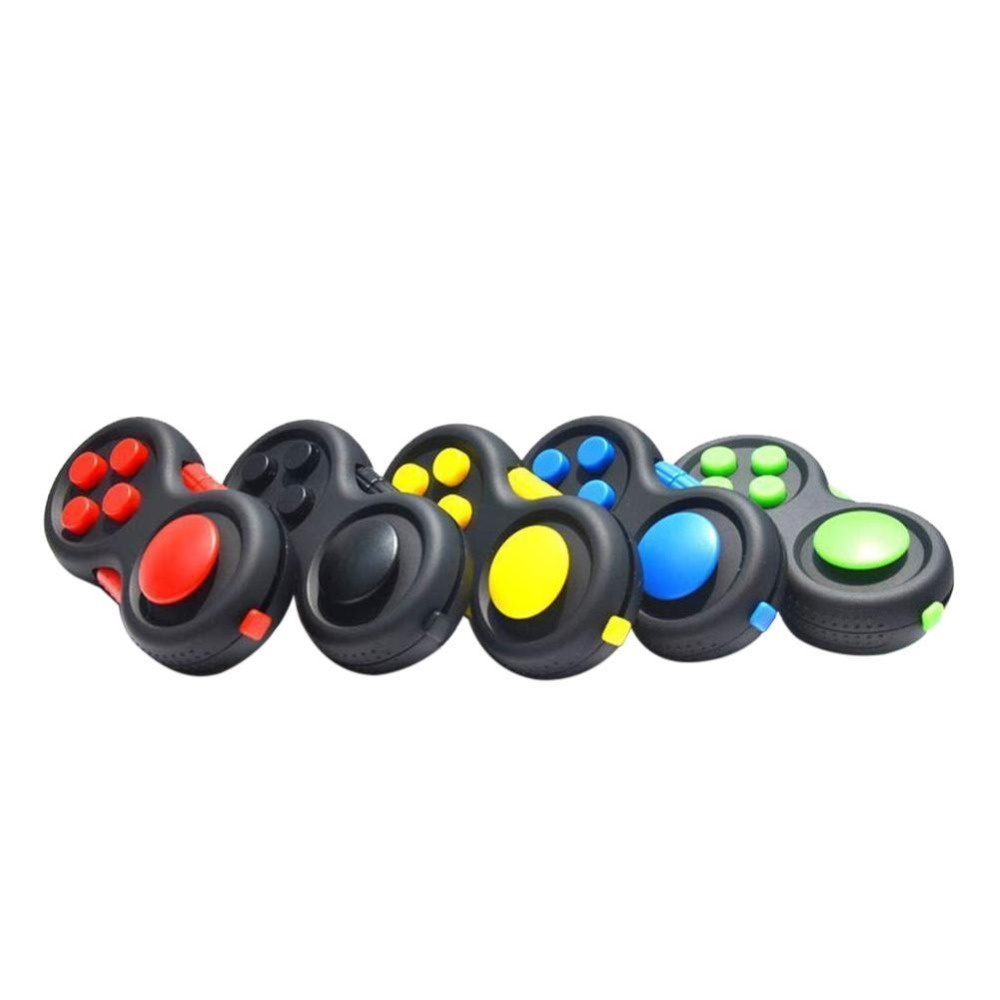 Original Fidget Pad Game Handle Toys Plastic Reliever Stress Hand Cube Intellectual Puzzle Vent Decompression Gift Drop Shipping
