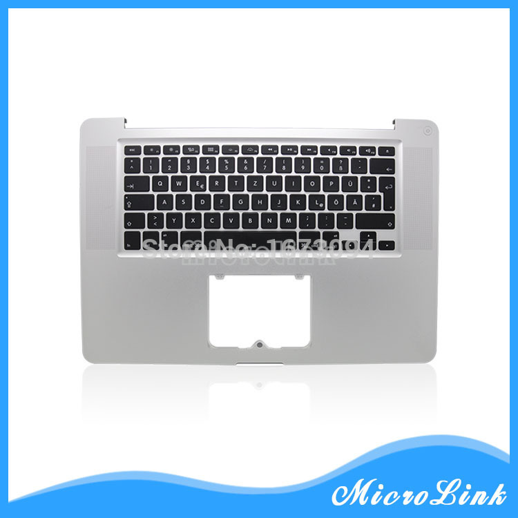 New Topcase with GR German Keyboard & Blacklight For MacBook Pro 15