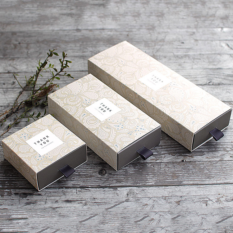 20pcs/lot Kraft Tea Drawer-type Carton Sweet Drawer Box Wedding Decoration Candy Box Birthday Party Favor Gift Box With Sticker