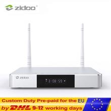 Zidoo Z9S медиаплеер 4 к Smart tv Box Android 7,1 NAS система 2 Гб DDR 16 Гб eMMC набор верхней коробки HDR Android верхняя коробка HDR 10Bit ТВ коробка