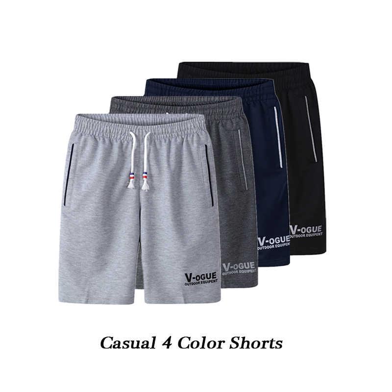 3 sztuk/partia lato plaża krótkie mężczyźni moda męskie szorty markowe szorty na co dzień spodenki męskie oddychające M-6XL spodnie krótkie 2019 nowy