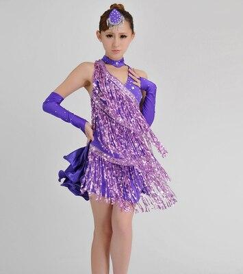 The new Tassel/Sequin style women/Children Latin Dance Dress Girls/Lady Cha Cha/Rumba/Samba/Tango/Ballroom square dance Skirt